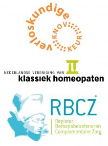 Vakverenigingen voor verloskunde, homeopathie en complementaire zorg